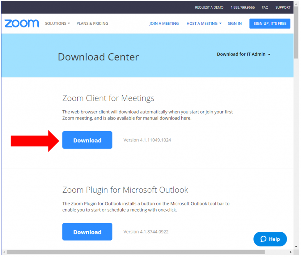 zoom meeting free download